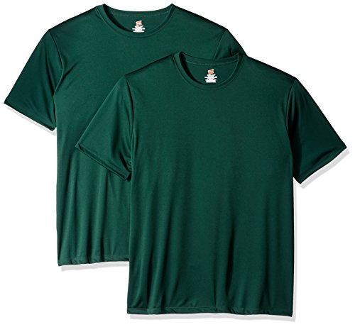 Hanes Men's Sport Cool DRI Performance Tee, deep Forest, X Large