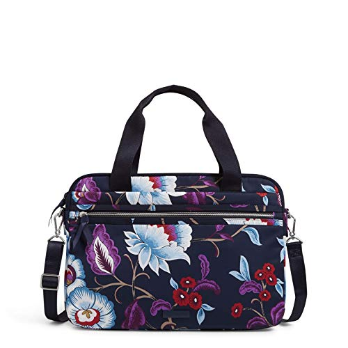 Vera Bradley Performance Twill Slim Laptop Organizer, Mayfair in Bloom Montana