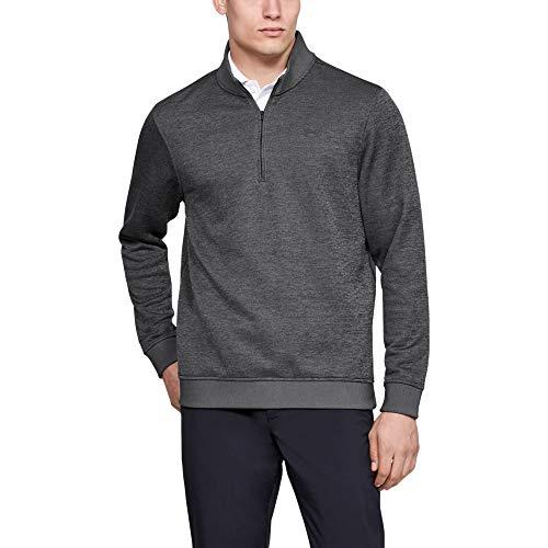 Under Armour Men's Storm Fleece QZ Sweater, Carbon Heather, Large