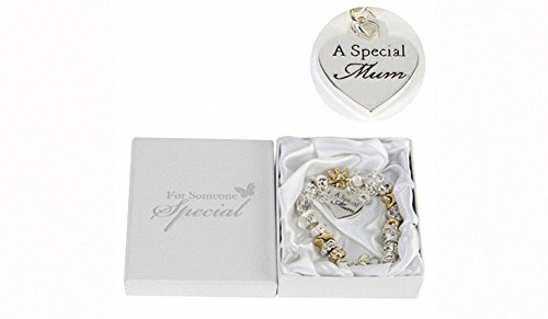 Juliana goud/zilveren bedelarmband met speciale moeder. Algemene Giftware, Bruiloft gunsten - Geweldige Giftware