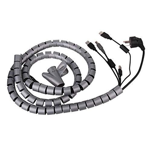 Organizador de cables para cables de TV, PC y consolas de juegos,...