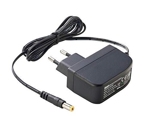 PremiumCord Universal Netzteil 230V/5V/1.2A DC, Netzadapter AC/DC, Stromadapter und Stromkabel für Router und weitere 5V-Geräte, Ausgangsstecker 5,5mm/ 2,1mm