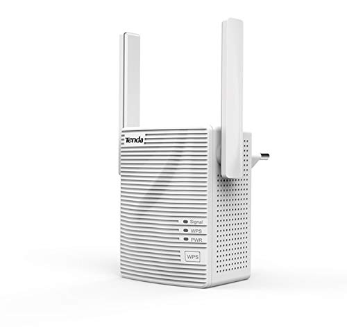 Tenda A301 - Repetidor Extensor de Red WiFi (300 Mbps) Color Blanco