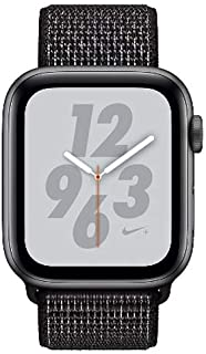 Apple Watch Series 4 Sport 40mm (GPS only) Nike Plus Aluminium Grey Sport Loop Band Black