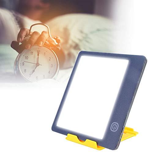 Lichttherapie Lampe, Energierückgewinnung Lampe, 6000/10000 Phototherapie Licht mit einstellbarer Helligkeit und Touch Steuerung, Bekämpfung saisonaler affektiver Störungen