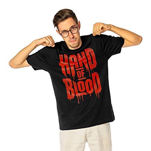 HandOfBlood - Logo Schwarz T-Shirt (XL)