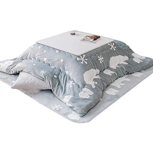 Manta de Lujo Kotatsu futón, japonés Kotatsu Tabla con calefacción y Manta, Calefacción Tabla Tatami Mesa por El Horno Caliente Cubierta Tablas Secundarios