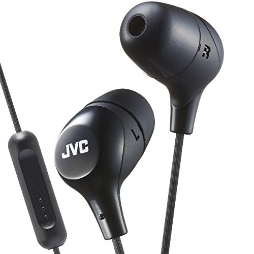 Photo of JVC HA-FR38M-B-E Marshmallow Custom Fit In-Ear Headphone with Remote and Microphone – Black, 6.0 cm*31.0 cm*19.0 cm
