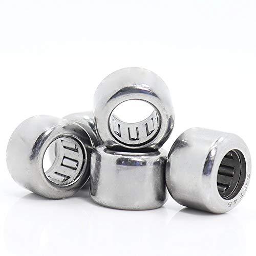 Needle Roller Bearings SCE45 Needle Roller Bearing (5 PCS) Drawn Cup Needle Roller Bearings B45 BA45Z SCE 45 Bearing 6.3511.1127.94 Mm Bearings