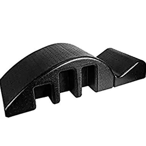 YF-SURINA Equipo deportivo Cama de masaje Pula Mesa de masaje curva Diseño de yoga Mesa de masaje para culturismo Torácica Ortopédica Pilates Corrector de columna Órtesis de columna - Arco negro