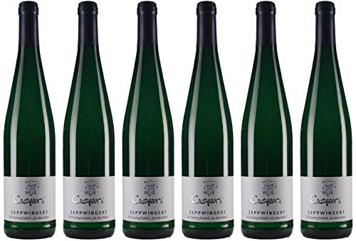 Caspari-Kappel Zeppwingert Riesling Alte Reben 2017 Feinherb Bio (6 x 0.75 l)