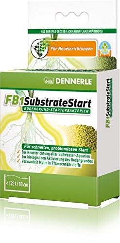 Dennerle 4481 FB1 SubstrateStart Bodengrund Starter-Bakterien für Aquarienpflanzen, 50g