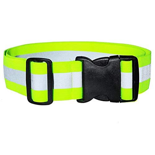 Hihey reflecterende riem loopt soepel en goed lopende reflecterende vesten voor hardlopen, fietsen, marathonlopen.
