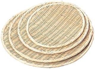 竹盆ザル(国産)上仕上 φ27cm 30003