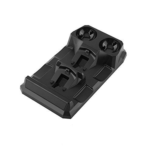 Zerone 4 Docks Schnell Ladegerät Station Ladestation Halter für PS Move / PS4 Controller
