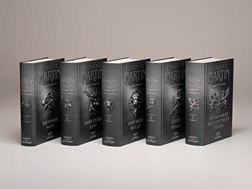 Game of Thrones-Set: alle Bände als Geschenkausgabe