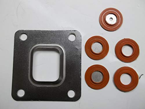 Dry joint exhaust manifold riser elbow gasket for Mercruiser 4.3, 5.0, 5.7, 6.2, 8.1, 8.2 350 mag