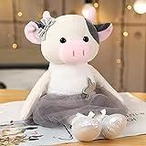 素敵なバレエマウス牛ぬいぐるみ柔らかいぬいぐるみかわいいドレッシング動物人形赤ちゃんの指の枕子供のための女の子の誕生日プレゼント 8