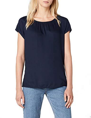 Street One Dames Felia blouse, blauw (Deep Blue 11238), (Manufacturer Maat: 34)