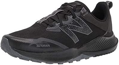 New Balance Men's DynaSoft Nitrel V4 Trail Running Shoe, Black/Black, 10