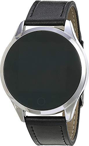 Relógio Smartwatch Masculino IFIST Pulseira em Couro, Bluetooth 4.0 e Whatsapp Tela LCD com contador de Calorias - 2020