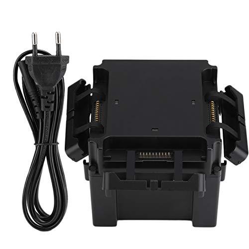 Jopwkuin Cargador de baterías de Carga confiable y liviano Cargador de baterías S1 con Cubierta Antipolvo para dji RoboMaster S1(Black, Transl)