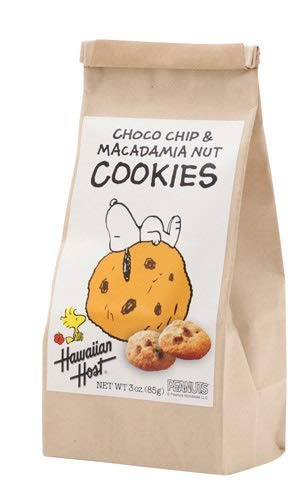 スヌーピー チョコチップマカデミアナッツクッキーBAG(85g)×6袋 ハワイのクッキー 輸入菓子 ハワイのマカダミアナッツクッキー ナッツクッキー スヌーピーのおかし