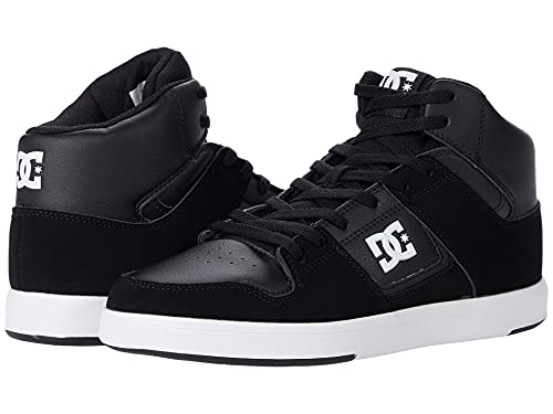 DC Cure Casual High-Top Skate Shoes Sneakers Black/White 6.5 D (M)