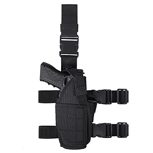 DSND Tactical Thigh Pistol Holster, Dropping Adjustable...