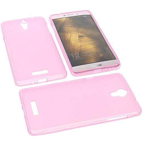 foto-kontor Tasche für coolpad Modena 2 Gummi TPU Schutz Handytasche pink