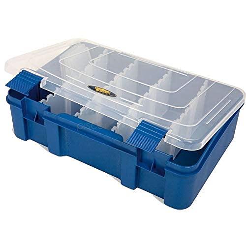 Lineaeffe Boîte Accessoires 4 27.6 x 18.8 x 7.5 cm Boîte de Pêche Rangement Accessoire Leurre Hameçon Compartiment Plastique