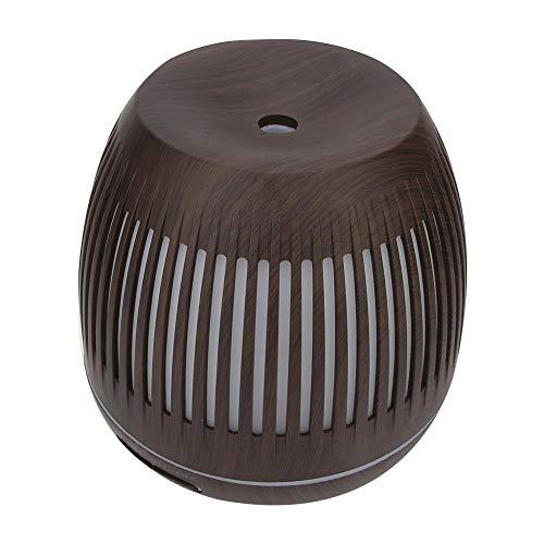 400 ml luchtbevochtiger, mini luchtreiniger aromatherapie diffuser aroma luchtbevochtiger, 7 kleurrijke led-verlichting kamer luchtbevochtiger voor thuiskantoor kinderkamer woonkamer(EU-stekker)