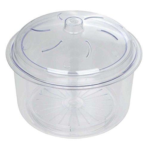 Riz Micro-Ondes Dexam Et Légumes Vapeur - Poly Carbonate 22Cm 2.3L (Pack de 2)