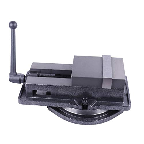 Bench Vise,Yirise 4 Inch Bench Clamp Lock Vise with 360℃ Swivel Base Milling Machine,Precision Milling Drilling Vises Are Suitable For Milling, Drilling Machine And Precision Parts Finishing