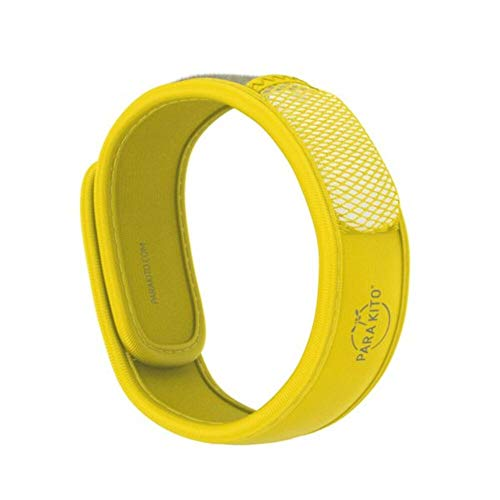 PARAKITO Bracelet Anti-moustiques (Jaune)