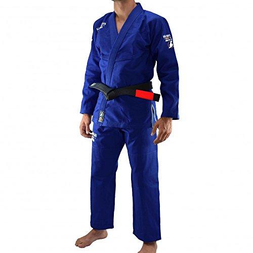 Bõa BJJ Gi Jogo no Chão Kimono de jiu Jitsu Hombre, azul, medium