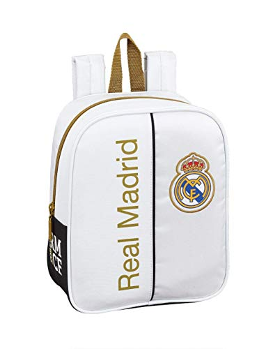 Real Madrid CF niños Equipaje, Blanco, Talla Única