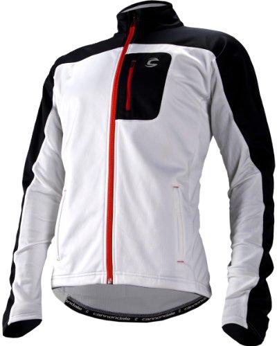 Cannondale Men's Performance Softshell Jacket, White, Medium