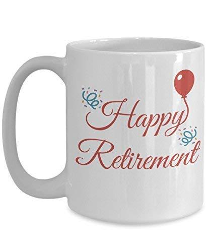 N\A Regalos de jubilación Taza de café de jubilación Feliz jubilación para Hombres, Mujeres, Abuela, Abuelo.