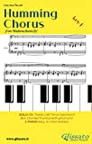 """Humming Chorus - Low Bb Solo instr. and Piano (Key F): from """"Madama Butterfly"""" (English Edition)"""