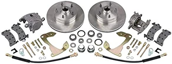 Deluxe Disc Brake Kit, Fits 1955-1964 Chevy Full-size Car, Stock Spindle