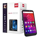 RCA Reno Pro, 5.5' HD+ Display, 32GB, 13MP Camera, 4G LTE Unlocked Smartphone (Black)