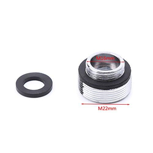 Gjyia Solid metalen adapter buitendraad waterbesparende keukenkraan kraan ventilatie aansluiting