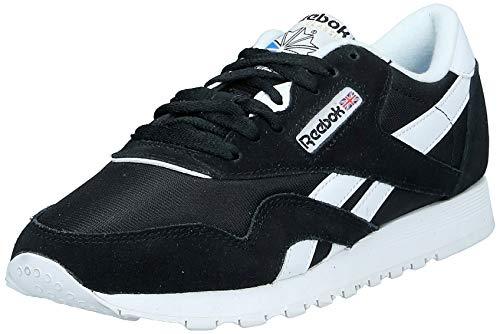 Reebok Classic Nylon, Zapatillas de Running para Mujer, Negro (Black/White), 38 EU