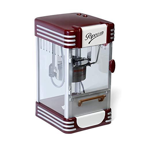 YFGQBCP Popcornmaschine Retro Popcorn-Maschine-60 Liter/Stunde, 200 g / 10 min, Edelstahl-Topf, salzige Popcorn-Auftritt in den 50er Jahren, professionelle Popcornmaschine, Hersteller, Maschinen