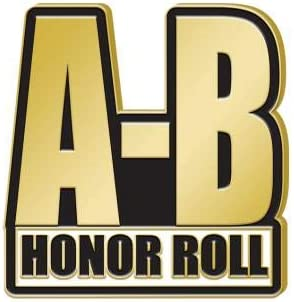 Popular popular Super-cheap Crown Awards A-B Honor Roll Recogn - Lapel 1.25