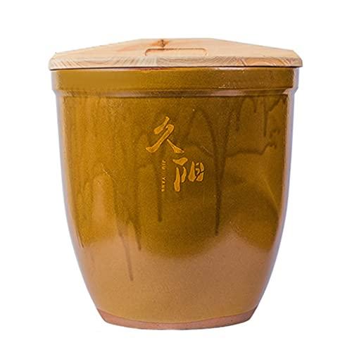 Tanque de Agua de cerámica Tanque de arroz de cerámica Caja de Almacenamiento de arroz Tanque de Almacenamiento Insecto a Prueba de Humedad