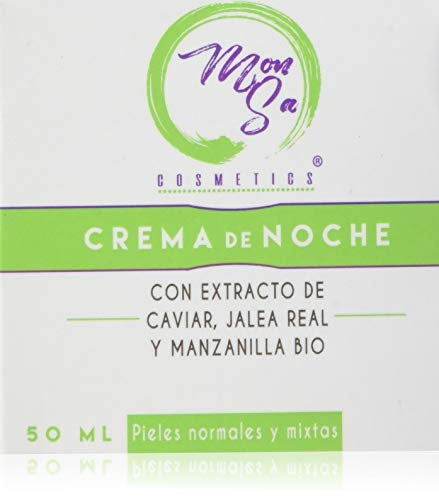 Mon Sa Cosmetics, Crema nocturna facial - 1 Unidad