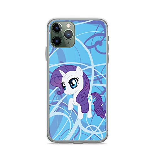 Phone Case My Little Pony Rarity Chibi Compatible with iPhone 6 6s 7 8 X XS XR 11 Pro Max SE 2020 Samsung Galaxy Funny Charm Absorption