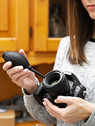 Ares Foto® Kit de Limpieza para cámaras. Fuelle, bolígrafo y paño ...